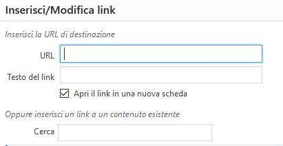 Link Usare Wordpress per creare un sito