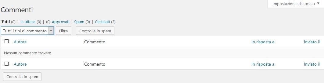commenti Usare Wordpress per creare un sito