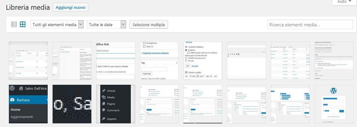 media Usare Wordpress per creare un sito