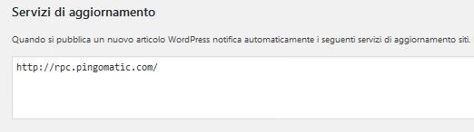servizi-di-aggiornamento Usare Wordpress per creare un sito