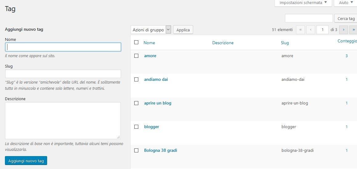 tag-1 Usare Wordpress per creare un sito